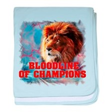 Bloodline of Champions baby blanket