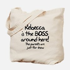 Rebecca is the Boss Tote Bag