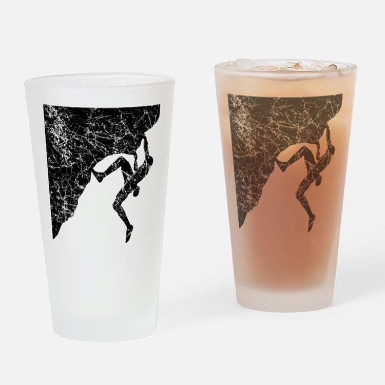 Climber Overhang Drinking Glass
