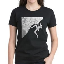 Female Climber Overhang Tee