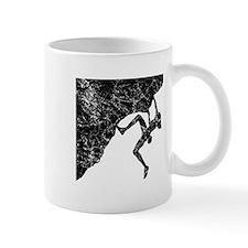 Female Climber Overhang Mug