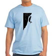 Rock Climber Cliff Hanger T-Shirt