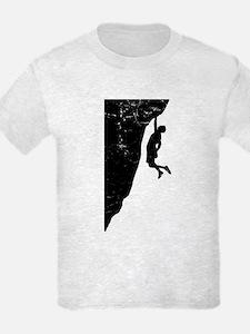 Rock Climber Cliff Hanger T-Shirt