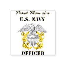 Officer Mom Rectangle Sticker