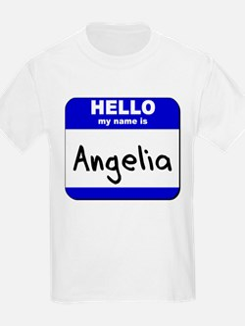 hello my name is angelia T-Shirt