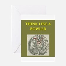 bowler Greeting Cards