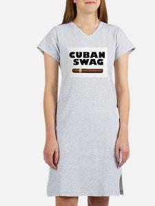 CUBAN SWAG Women's Nightshirt