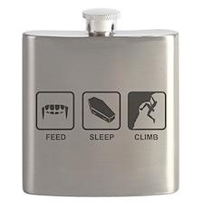 Feed Sleep Climb Flask