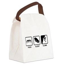 Feed Sleep Climb Canvas Lunch Bag