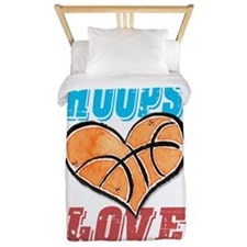 Play Strong Basketball Love Twin Duvet