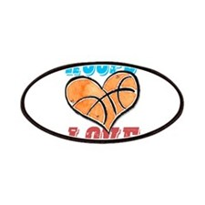 Play Strong Basketball Love Patches