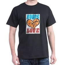 Play Strong Basketball Love T-Shirt