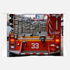 Red Fire Engine: Hoses Pillow Case