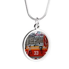 Red Fire Engine: Hoses Necklaces