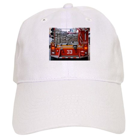 Red Fire Engine: Hoses Baseball Cap