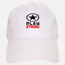 Play Strong Oval Star Baseball Baseball Baseball Cap