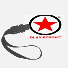 Play Strong Star Logo Luggage Tag
