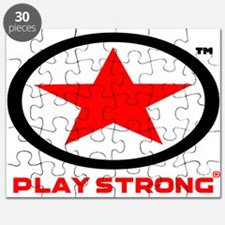 Play Strong Star Logo Puzzle