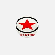Play Strong Star Logo Mini Button