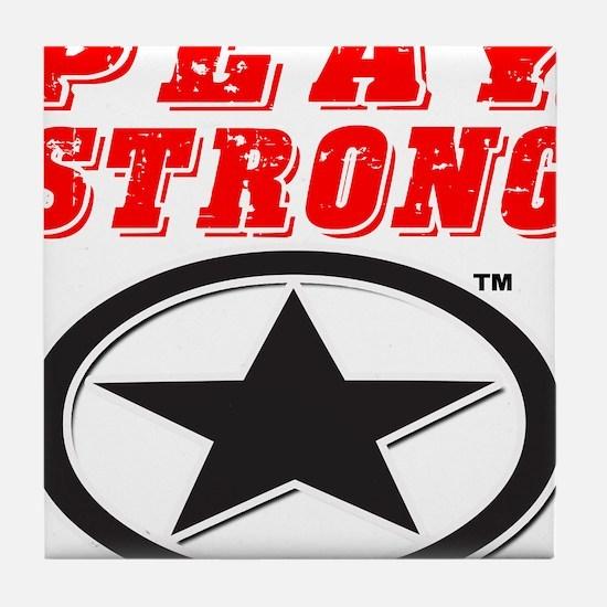 Play Strong Star Tile Coaster