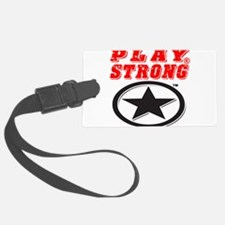 Play Strong Star Luggage Tag