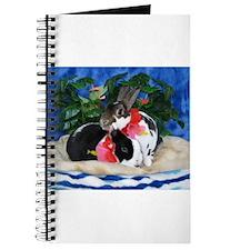 Dexter and Cooper-Island Bunnies Journal