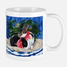 Dexter and Cooper-Island Bunnies Mugs