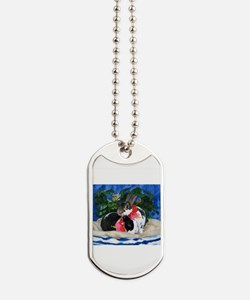 Dexter and Cooper-Island Bunnies Dog Tags