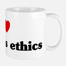 I Love Business ethics Mug