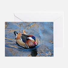 Mandarin Kaleidoscope Greeting Card