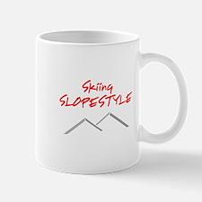 Skiing Slopestyle Mug