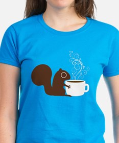 Coffee Squirrel Tee