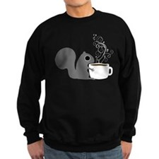 Coffee Squirrel Sweatshirt