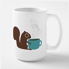 Coffee Squirrel Ceramic Mugs