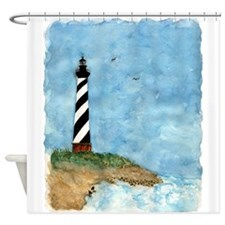 lighthouse2.jpg Shower Curtain