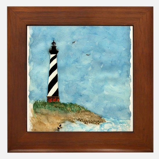 lighthouse2.jpg Framed Tile