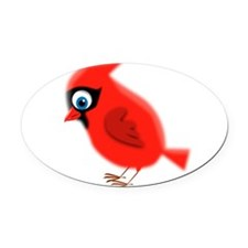 CARDINAL Oval Car Magnet