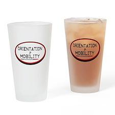 OM full Drinking Glass