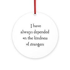 Kindness Ornament (Round) Ornament (Round)