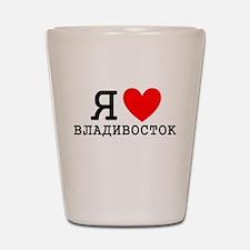 LyublyuRUS_Vladivostok Shot Glass