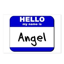 hello my name is angel  Postcards (Package of 8)