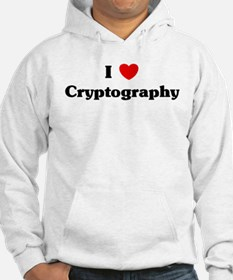 I Love Cryptography Hoodie