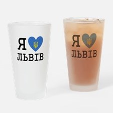LyublyuUA_Lviv Drinking Glass
