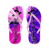Figure skating gifts Flip Flops