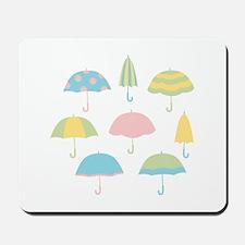 Umbrellas Mousepad