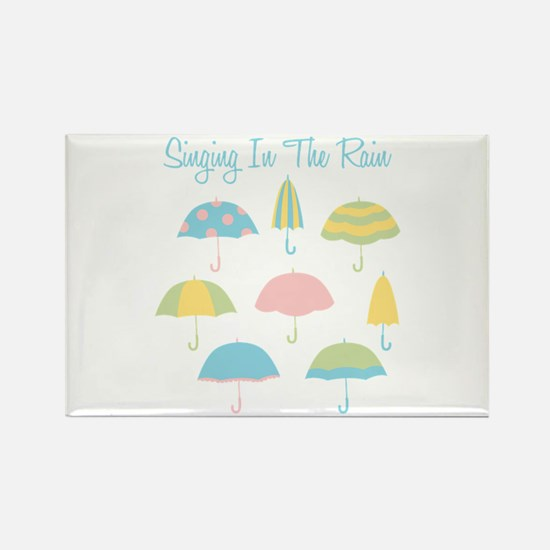 Singing In The Rain Magnets