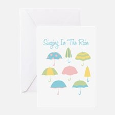 Singing In The Rain Greeting Cards