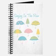 Singing In The Rain Journal
