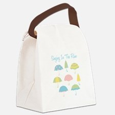 Singing In The Rain Canvas Lunch Bag