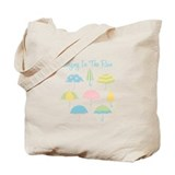 Umbrella Canvas Totes